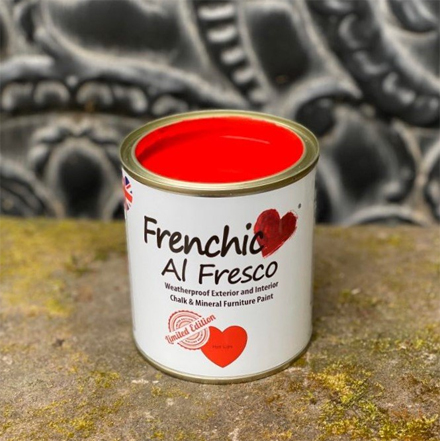 Frenchic Al Fresco Paint Hot Lips 500ml